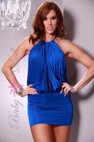 Rochie Albastra Blue Ocean S-M
