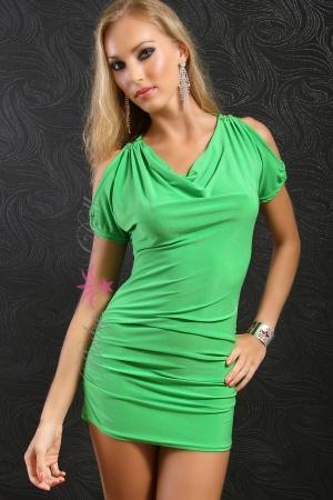 Rochie verde Green Elegance S-M