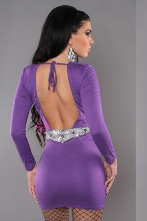 Rochie mov eleganta Lavender Alissa S-M