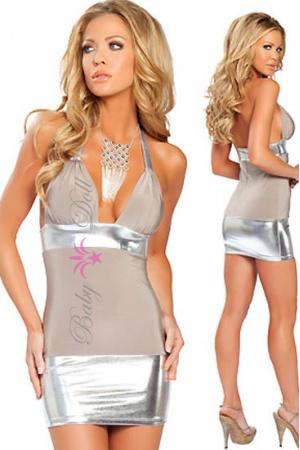 Rochie de ocazie Seductive Silver S-M
